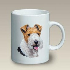 Ceramic Mug (LP) - Wire Fox Terrier