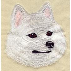 Embroidered American Eskimo I1222