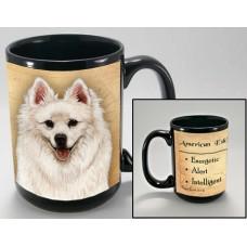 15 oz. Faithful Friends Mug - American Eskimo Dog