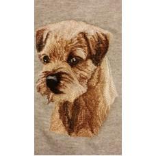 Embroidered Border Terrier BT3415