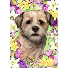 Indoor/Outdoor Easter Flag - Border Terrier (TB)