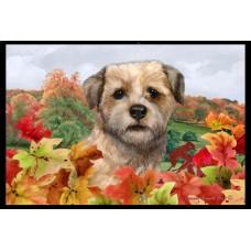 Fall Floor Mat - Border Terrier