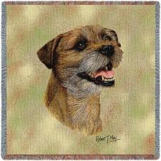 Woven Blanket - Border Terrier II