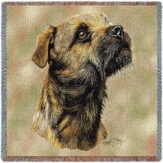 Woven Blanket - Border Terrier I