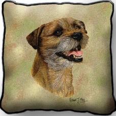 Woven Pillow - Border Terrier II