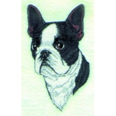 Embroidered Boston Terrier BT2622