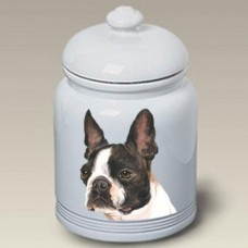 Ceramic Treat Jar (BVV) - Boston Terrier 23032