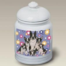 Ceramic Treat Jar (PS) - Boston Terrier 52032