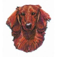Embroidered Dachshund BT3987