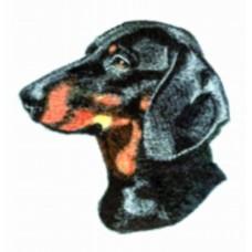 Embroidered Dachshund BT3988