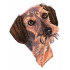 Embroidered Dachshund BT4557