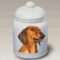 Ceramic Treat Jar (BVV) - Dachshund 23039