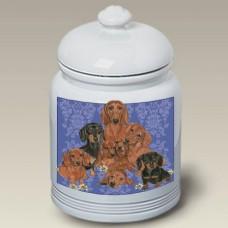 Ceramic Treat Jar (PS) - Dachshund 52802
