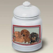 Ceramic Treat Jar (PS) - Dachshund 52803